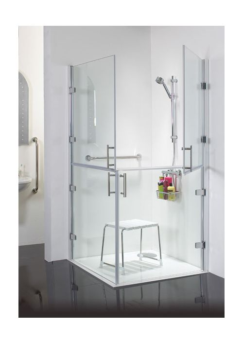 Luxury Shower Bench Technical Lifestyle